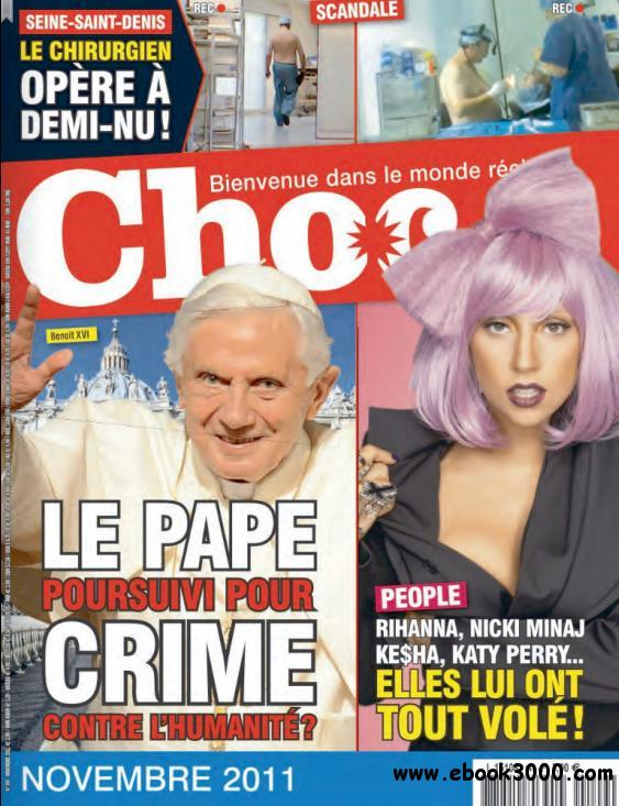 Choc - N 149 Novembre 2011 free download