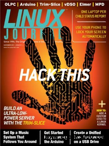 Linux Journal US - November 2011 free download