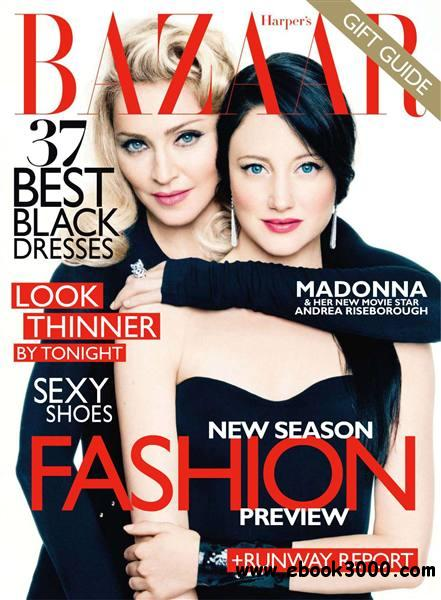 Harper's Bazaar - December 2011/January 2012 / USA free download