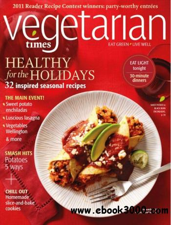 Vegetarian Times - December 2011 free download