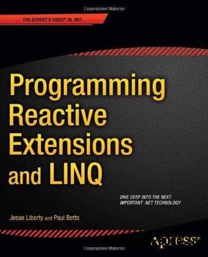Programming Reactive Extensions and LINQ free download