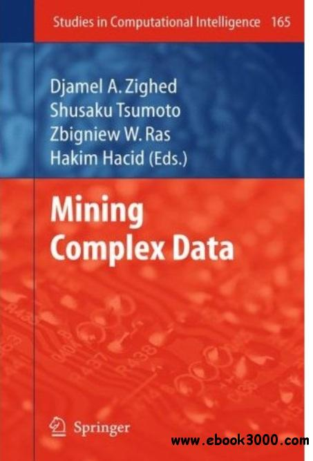 Mining Complex Data free download