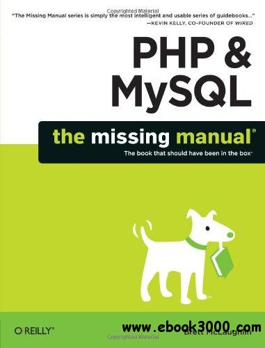 PHP & MySQL: The Missing Manual free download