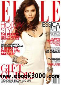 Elle December 2011 (United States) free download