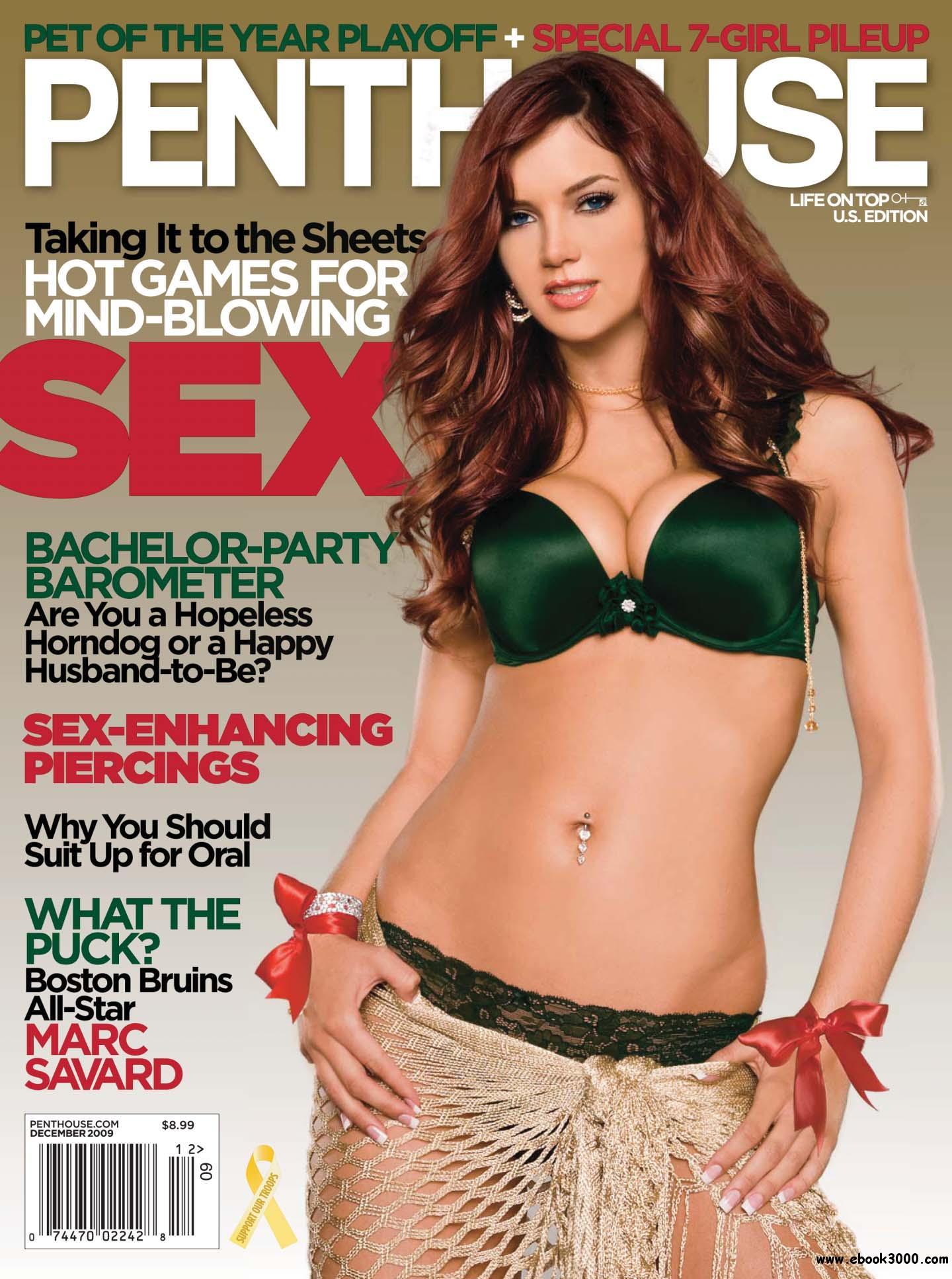 Penthouse USA - December 2009 free download