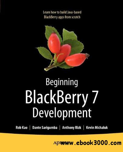 Beginning BlackBerry 7 Development free download