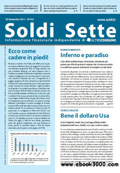 Soldi Sette 957 - 29 Novembre 2011 free download