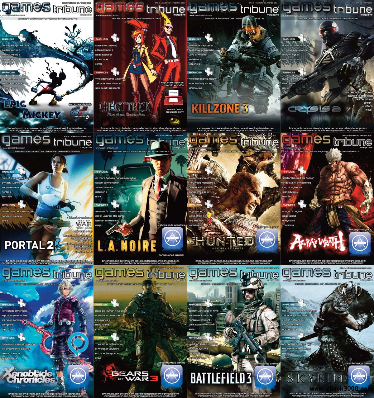 Games Tribune 2011 Full Year Collection free download