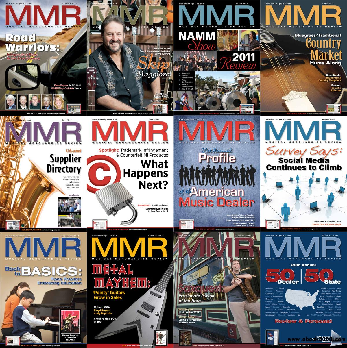 Musical Merchandise Review (MMR) 2011 Full Year Collection free download