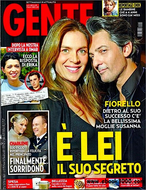 GENTE N 49 - 6 Dicembre 2011 free download