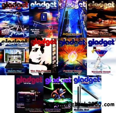 Gladget Magazine 2011 Full Year Collection free download