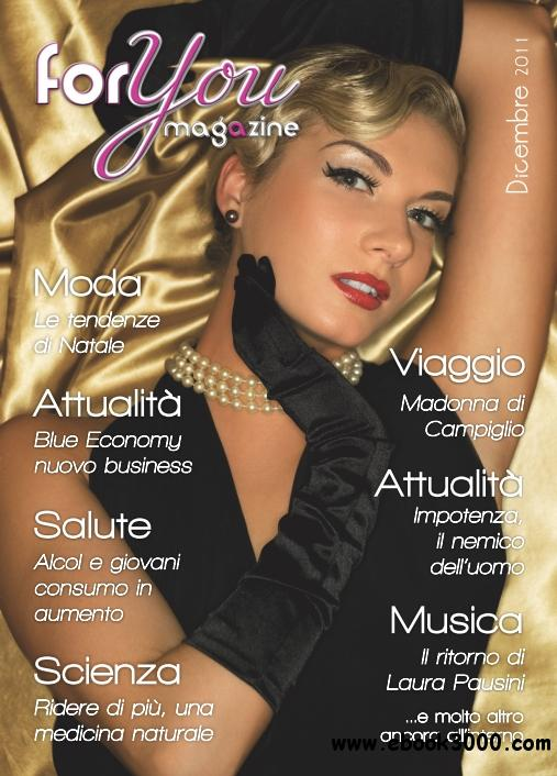 For You Magazine - Dicembre 2011 free download