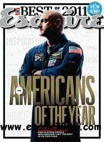 Esquire December 2011 (USA) free download