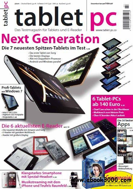Tablet PC Magazin Dezember 2011 - Februar 2012 No 03 2011 free download