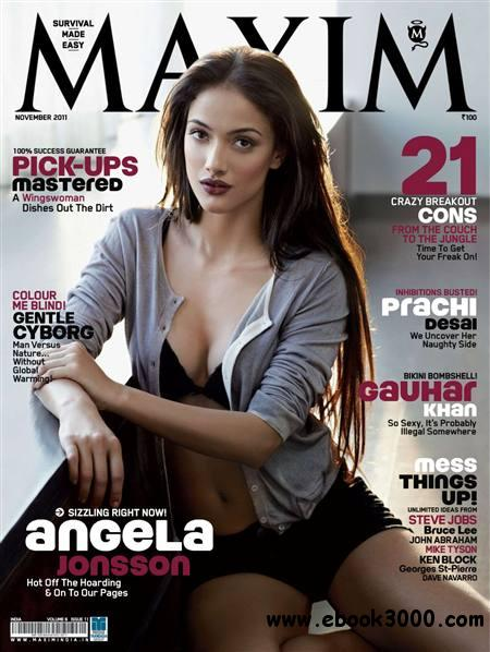 Maxim India - November 2011 free download