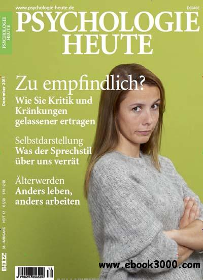 Psychologie Heute Magazin Dezember No 12 2011 free download