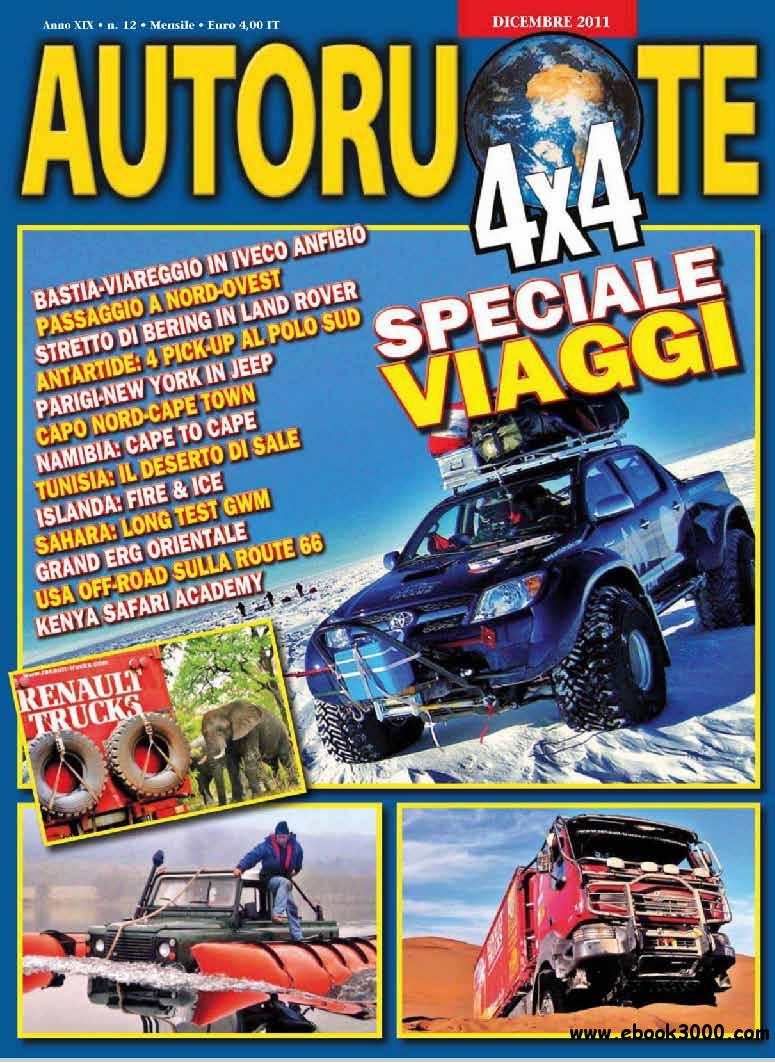 Autoruote 4x4 December 2011 (Dicembre 2011) free download