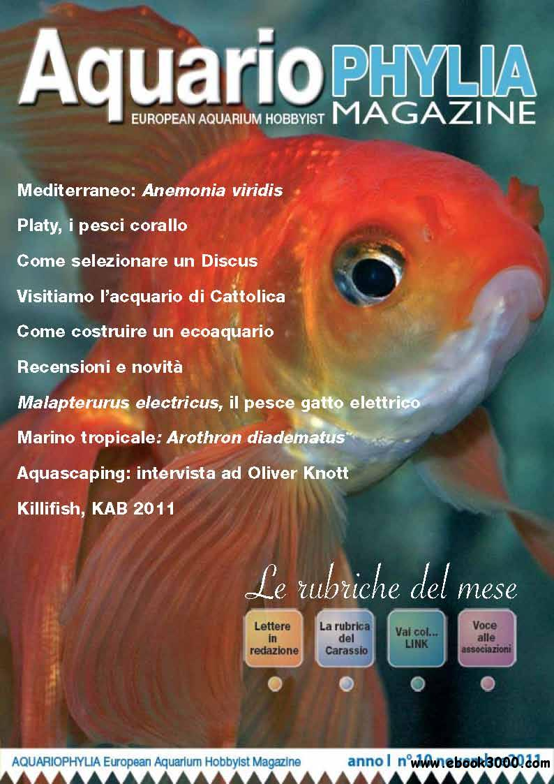 Aquariophylia November 2011 (Nr.10 Novembre 2011) free download