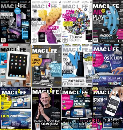 Mac Life Germany 2011 Full Year Collection free download