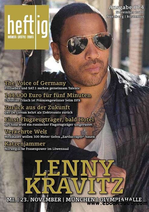 Heftig - November 2011 free download