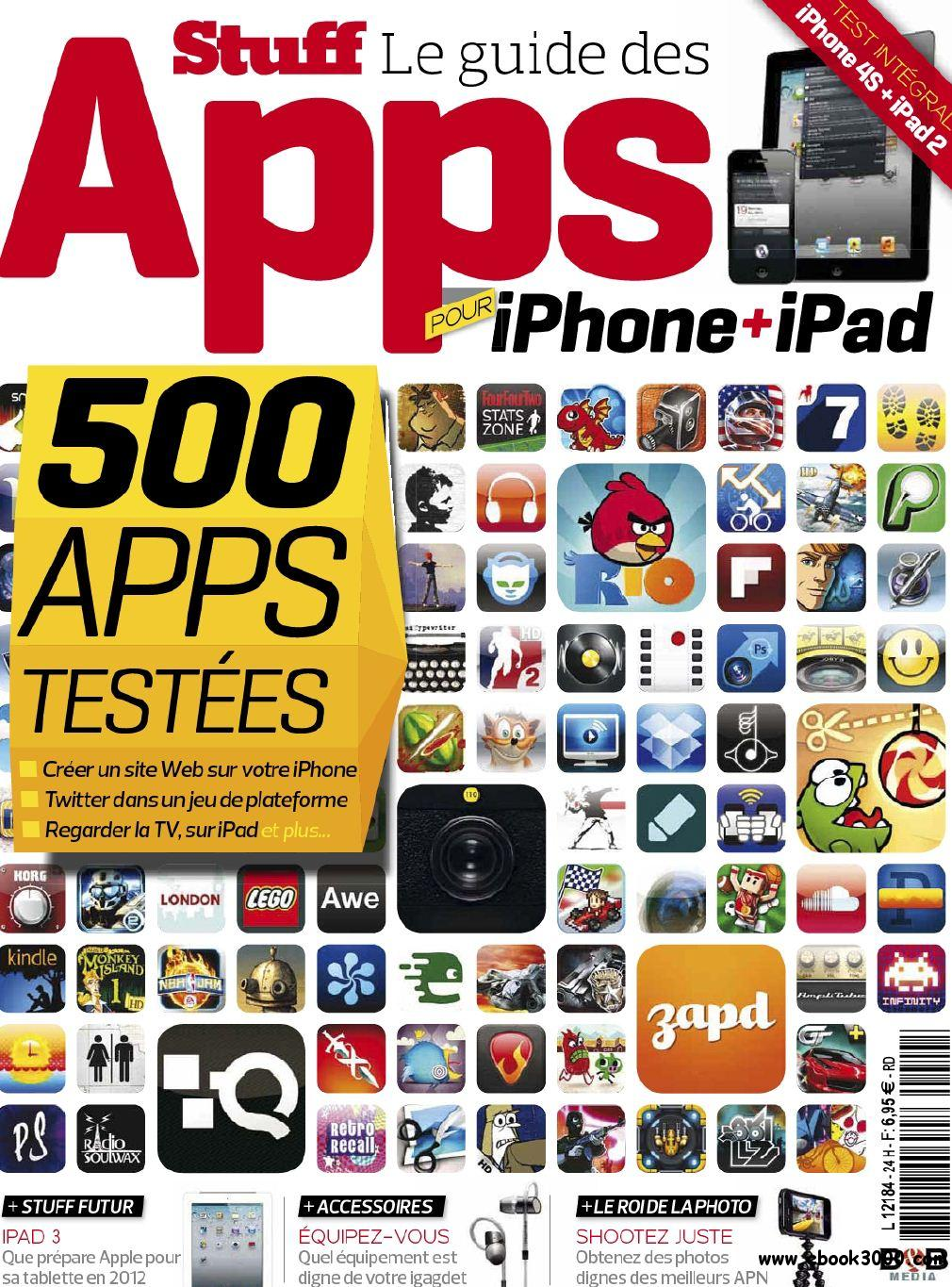 Stuff Hors Serie N 24 Decembre 2011: Le Guide des Apps pour iPhone et iPad free download