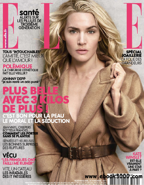 Elle N 3439 & Supplement Elle Paris du 25 Novembre au 1er Decembre 2011 free download