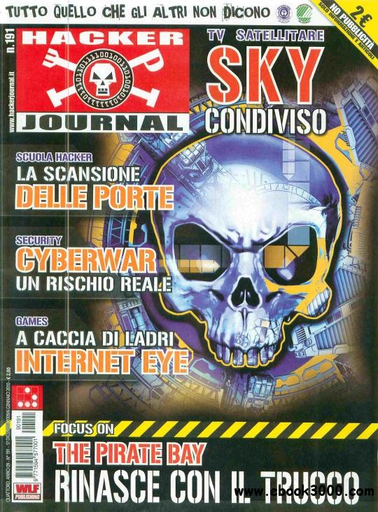 Hacker Journal N 191 - 17 Dicembre 2009 - 6 Gennaio 2010 free download