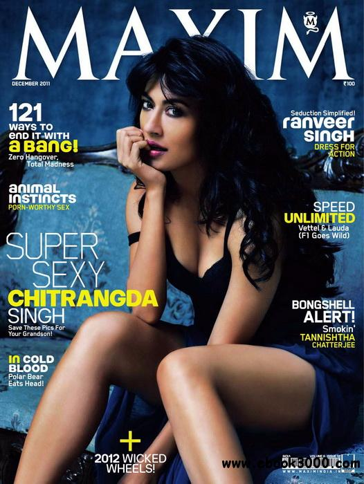 Maxim India - December 2011 free download