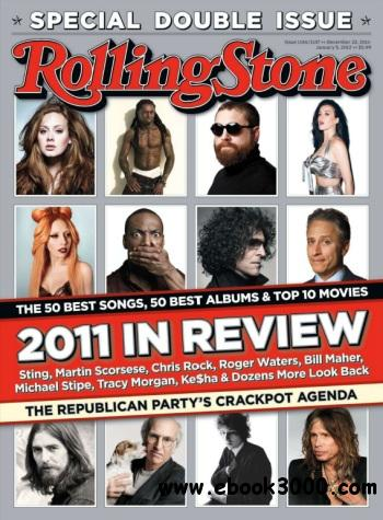 Rolling Stone - 22 December 2011-5 January 2012 free download