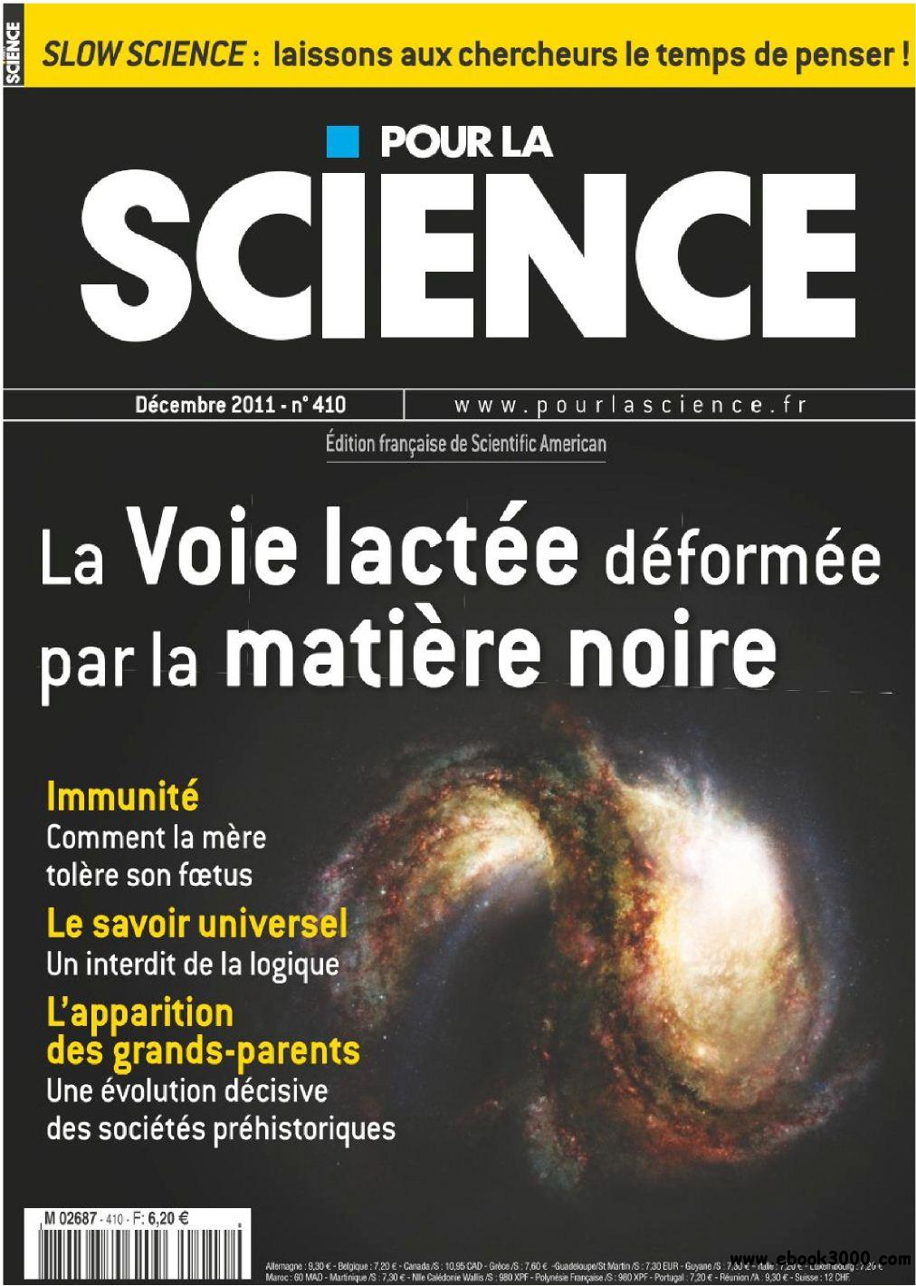 Pour La Science N 410 Decembre 2011 free download