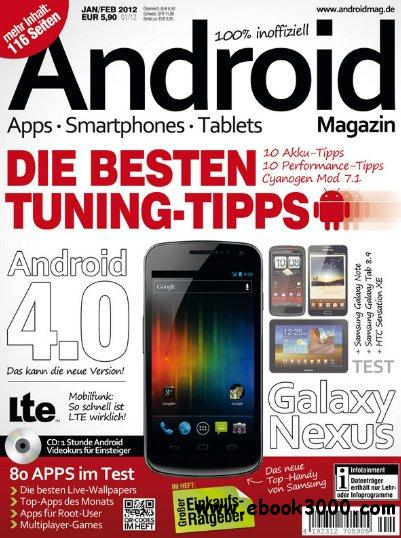 Android Magazin Januar Februar No 01 2012 free download