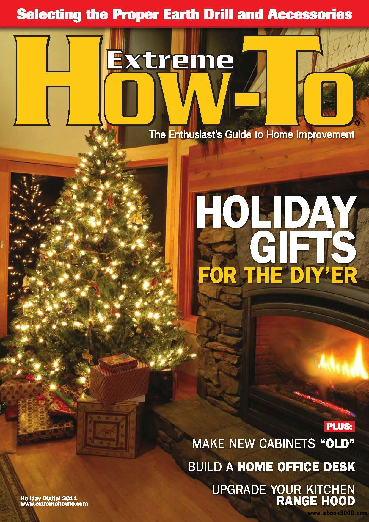 Extreme How-To Holiday 2011 free download
