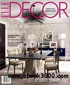 ELLE DECOR December 2011 (USA) free download