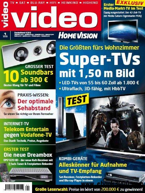 Video Homevision Magazin Januar No 01 2012 free download