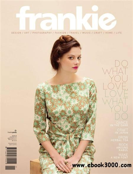 Frankie Magazine - January/February 2012 free download