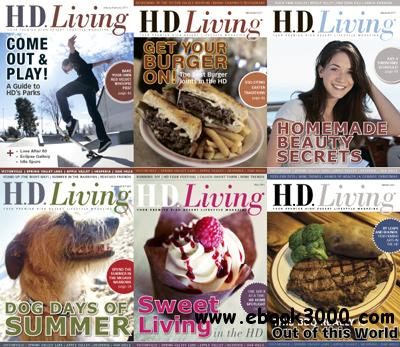 HD Living Magazine 2011 Full Year Collection free download