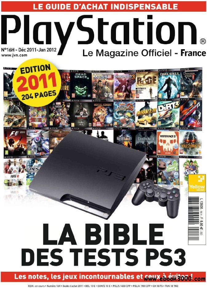 Playstation Magazine N 16 H Decembre 2011 - Janvier 2012 Hors- Serie La Bible des Tests PS3 free download