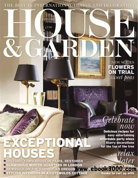 House and Garden - January 2012 free download