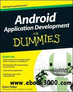 Android Application Development For Dummies free download