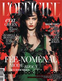L'Officiel Decembre 2011 - Janvier 2012 (France) free download