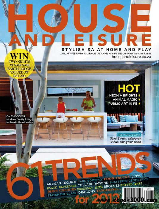 House and Leisure (South Africa) - January / February 2012 free download