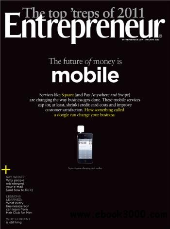 Entrepreneur USA - January 2012 free download