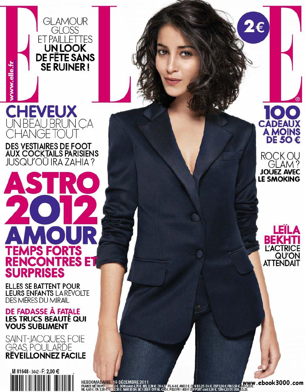 Elle N 3442 & Supplement Elle Paris du 16 au 23 Decembre 2011 free download