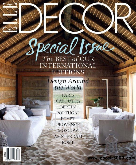 ELLE Decor - January / February 2012 free download