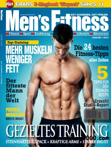 Mens Fitness Magazin Januar No 01 2012 free download
