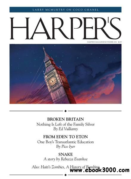Harper's - November 2011 free download