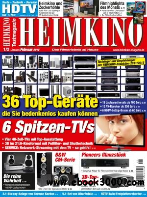 Heimkino Magazin Januar - Februar No 0102 2012 free download