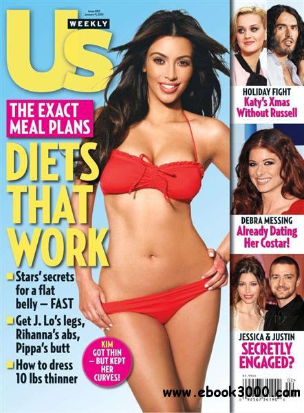Us Weekly - 09 January 2012 free download