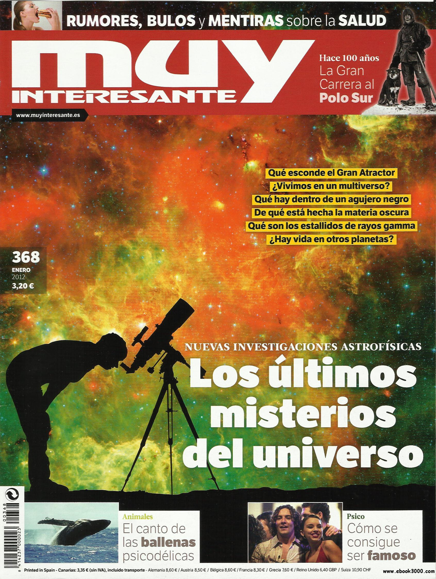 Muy Interesante N 368 - January 2012 free download