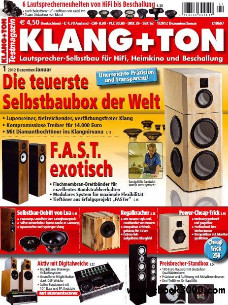 Klang und Ton Magazin Januar Februar No 01 02 2012 free download
